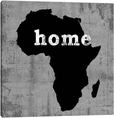 This Is Home Series: Africa Canvas Art Print