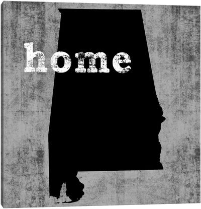 This Is Home Series: Alabama  Canvas Art Print