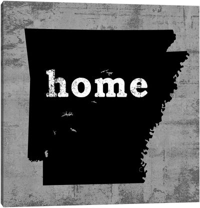 This Is Home Series: Arkansas Canvas Print #LWI46
