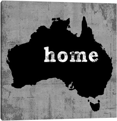 This Is Home Series: Australia Canvas Art Print