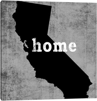 This Is Home Series: California Canvas Print #LWI48