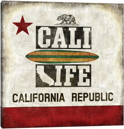 Cali Life Canvas Art Print