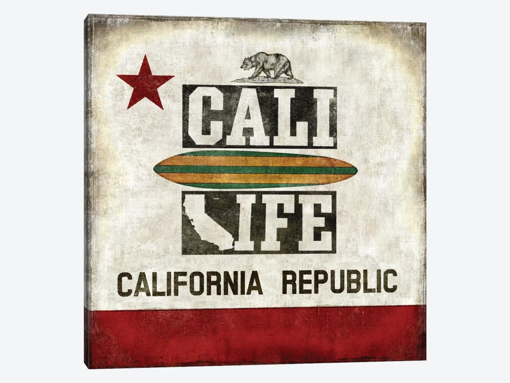 Cali Life by Luke Wilson 1-piece Art Print