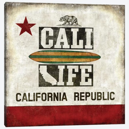 Cali Life Canvas Print #LWI4} by Luke Wilson Canvas Wall Art