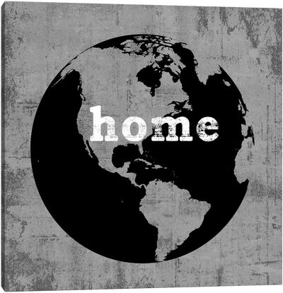 This Is Home Series: Earth Canvas Art Print