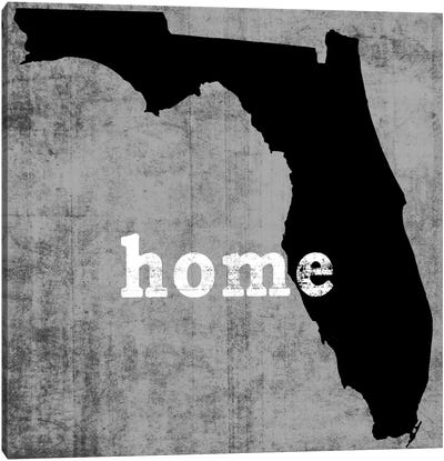 This Is Home Series: Florida  Canvas Art Print