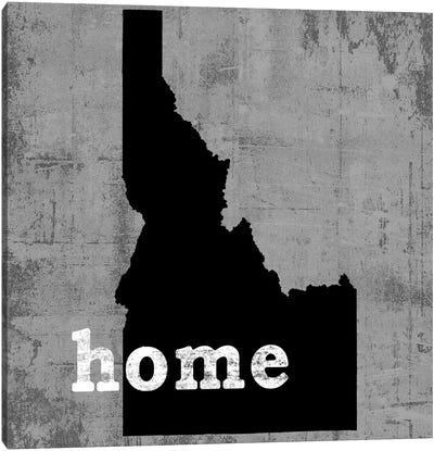 This Is Home Series: Idaho  Canvas Print #LWI57