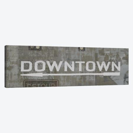 Downtown Canvas Print #LWI5} by Luke Wilson Canvas Wall Art