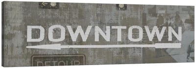 Downtown Canvas Art Print