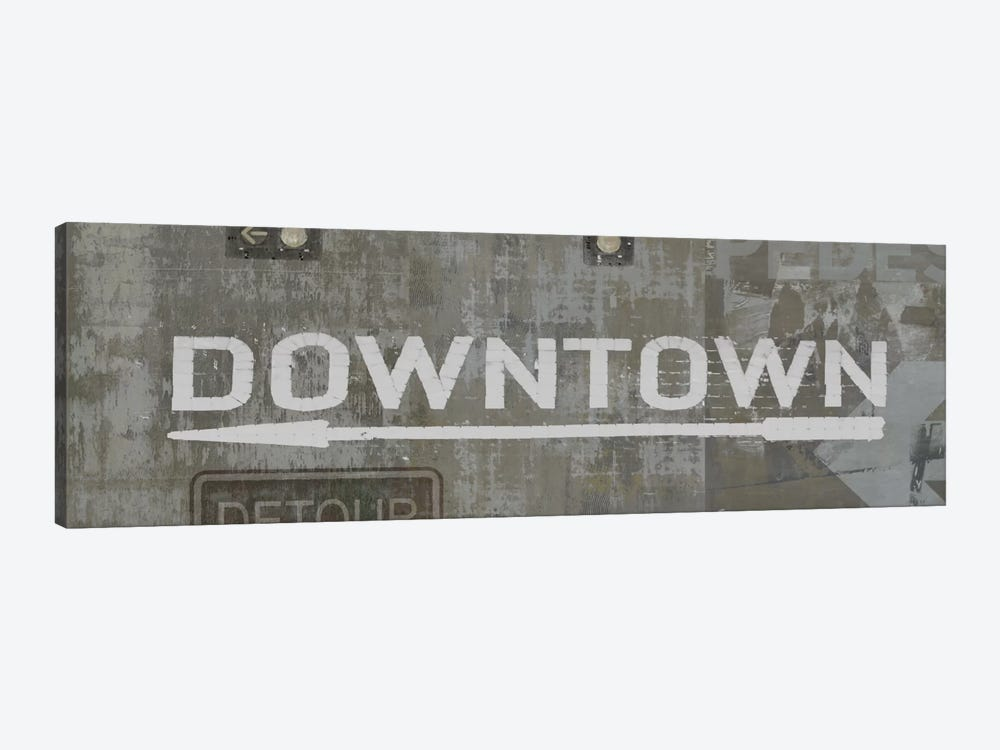 Downtown 1-piece Canvas Wall Art