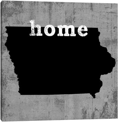 This Is Home Series: Iowa  Canvas Print #LWI60