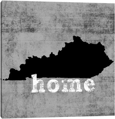 This Is Home Series: Kentucky  Canvas Art Print