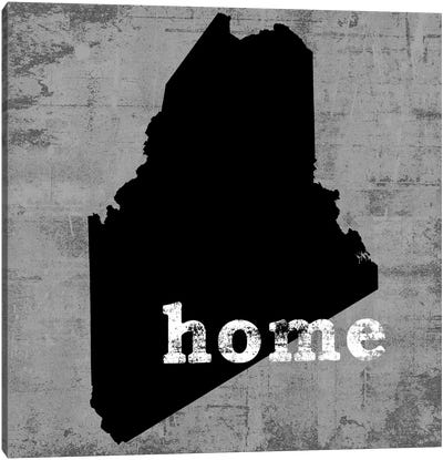 This Is Home Series: Maine  Canvas Art Print
