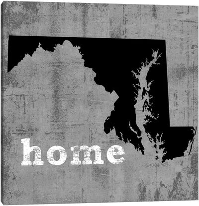 This Is Home Series: Maryland Canvas Print #LWI66
