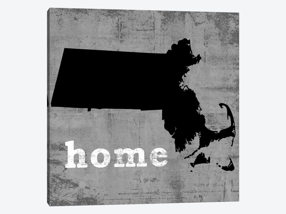 Massachusetts  by Luke Wilson 1-piece Canvas Art Print