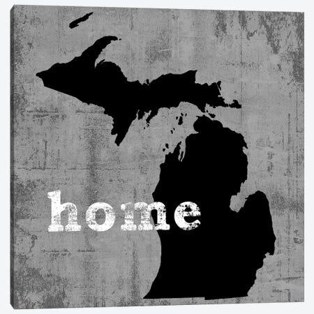 Michigan Canvas Print #LWI68} by Luke Wilson Art Print
