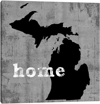 This Is Home Series: Michigan  Canvas Print #LWI68