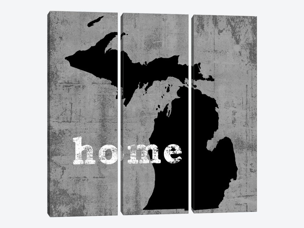 Michigan  by Luke Wilson 3-piece Canvas Wall Art