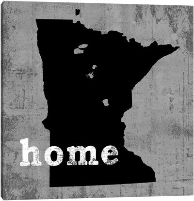 This Is Home Series: Minnesota  Canvas Art Print
