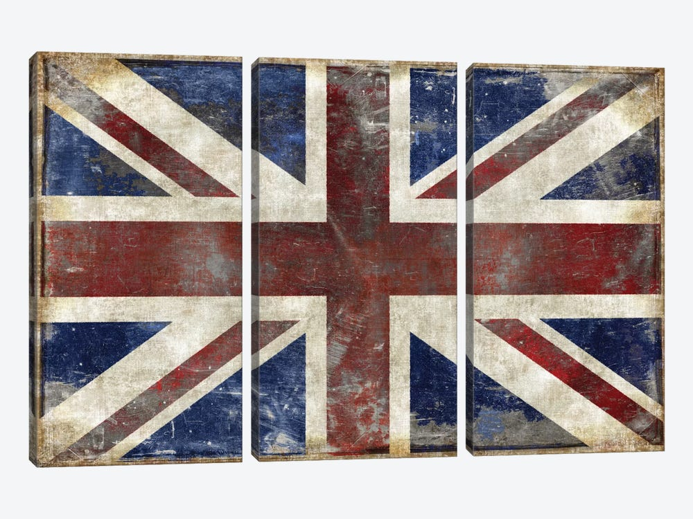 England by Luke Wilson 3-piece Canvas Art Print