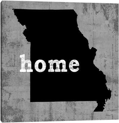 This Is Home Series: Missouri  Canvas Art Print