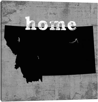 This Is Home Series: Montana Canvas Art Print