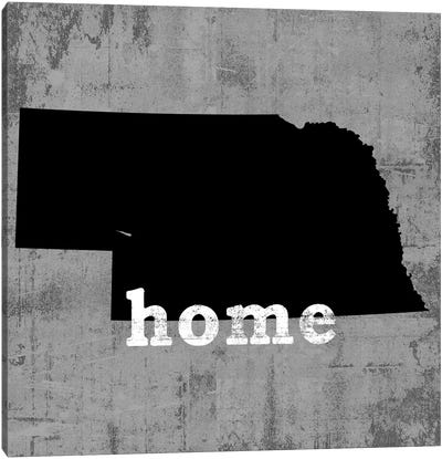 This Is Home Series: Nebraska  Canvas Print #LWI73