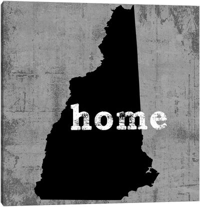 This Is Home Series: New Hampshire  Canvas Art Print