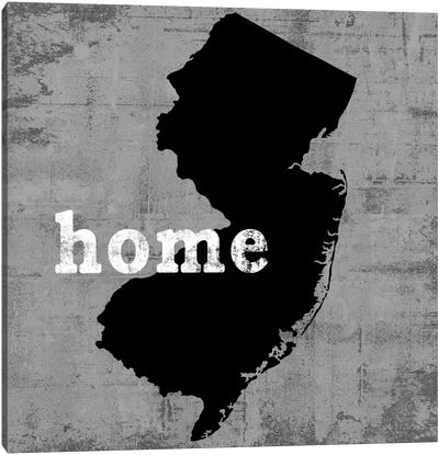This Is Home Series: New Jersey  Canvas Print #LWI76
