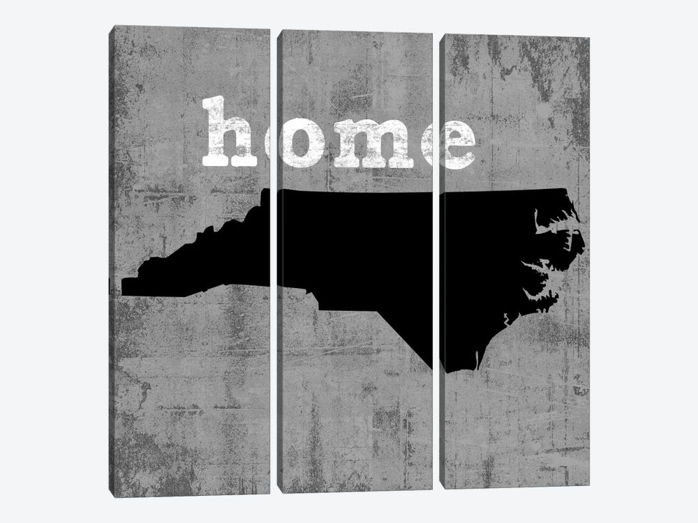 North Carolina  by Luke Wilson 3-piece Canvas Art