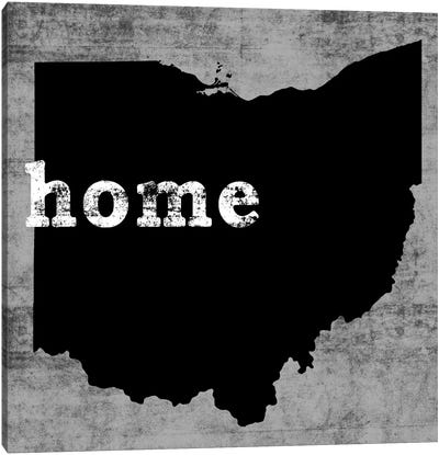 This Is Home Series: Ohio Canvas Print #LWI81