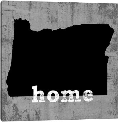 This Is Home Series: Oregon  Canvas Art Print