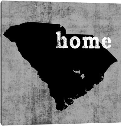 This Is Home Series: South Carolina  Canvas Print #LWI86