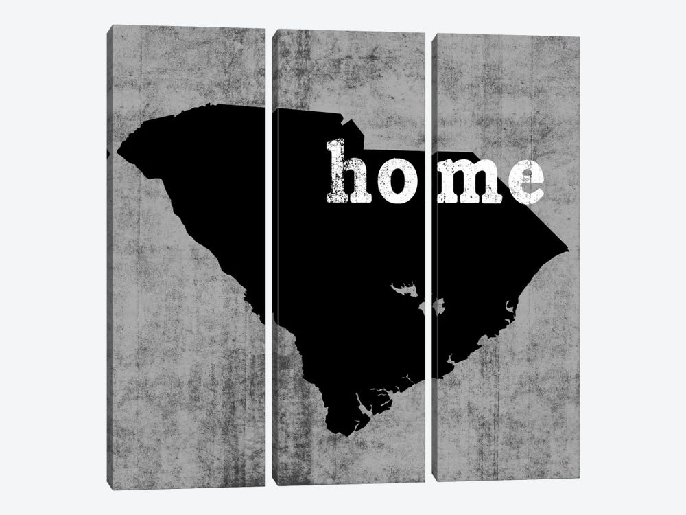 South Carolina  3-piece Canvas Wall Art