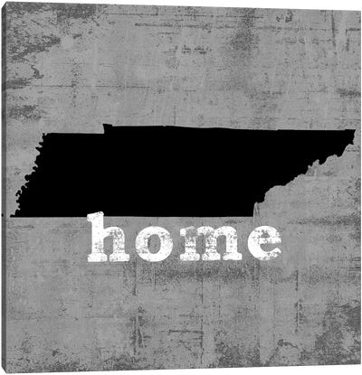 This Is Home Series: Tennessee  Canvas Print #LWI88