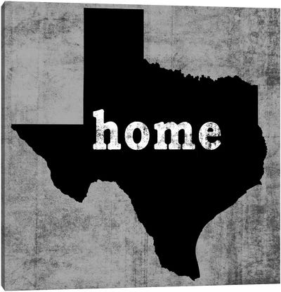 This Is Home Series: Texas  Canvas Art Print