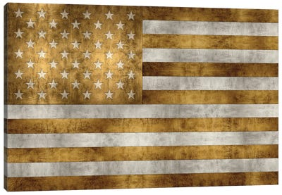Glory In Gold Canvas Print #LWI8