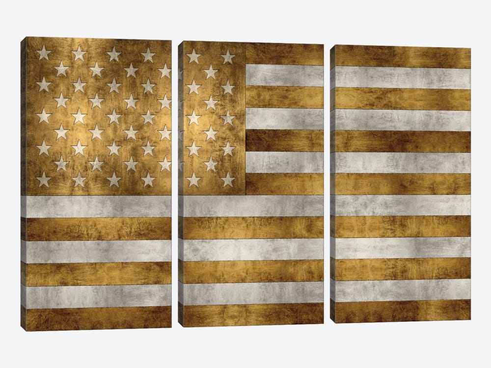Glory In Gold by Luke Wilson 3-piece Art Print