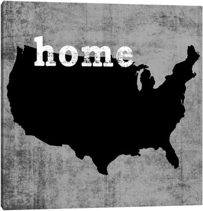This Is Home Series: USA Canvas Print #LWI90