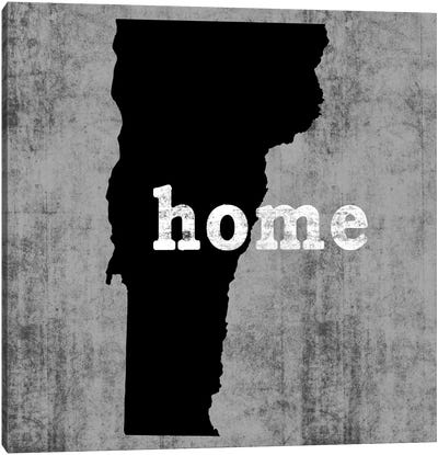 This Is Home Series: Vermont  Canvas Art Print