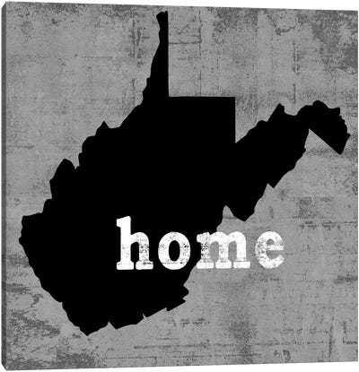 West Virginia  Canvas Art Print