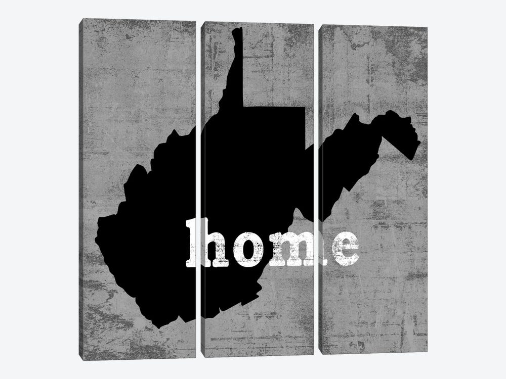 West Virginia  by Luke Wilson 3-piece Canvas Print