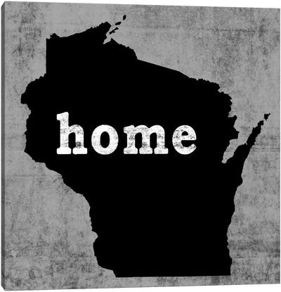 This Is Home Series: Wisconsin  Canvas Print #LWI97