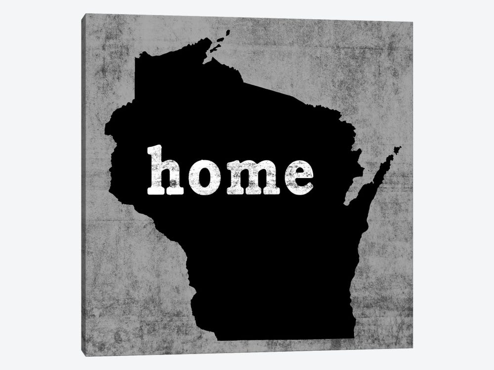 Wisconsin  by Luke Wilson 1-piece Canvas Art