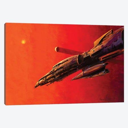 Insystem Cruiser Canvas Print #LWL10} by Lawrence Lee Canvas Art Print