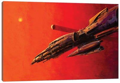 Insystem Cruiser Canvas Art Print