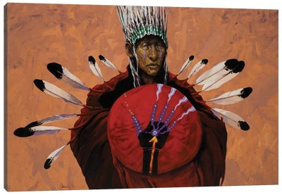 Shaman's Hand Canvas Art Print
