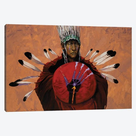 Shaman's Hand Canvas Print #LWL15} by Lawrence Lee Canvas Artwork