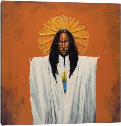 Sun Spirit Shaman Canvas Art Print