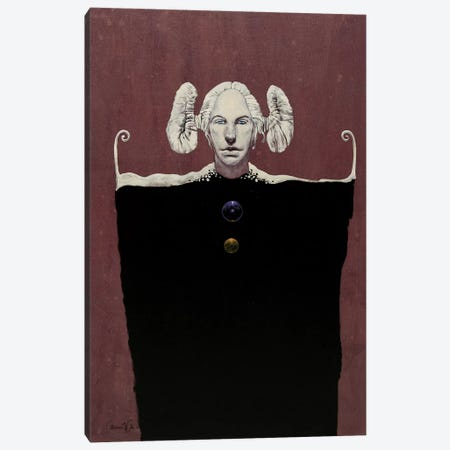 White Maiden Canvas Print #LWL22} by Lawrence Lee Canvas Art